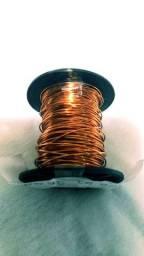 Fio de cobre esmaltado para enrolar bobina AWG 22