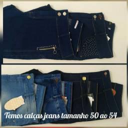 Calças Jeans Plus a partir de R$89,90