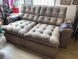 Sofá retrátil e reclinável é novo