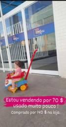 Carrinho e cadeira de segurança
