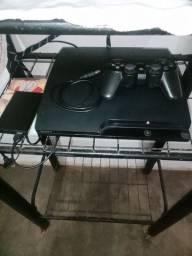 Vendo PS3 desbloqueado com HD externo