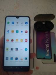 Xiaomi note 8 e Fone bluetooth