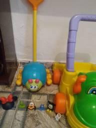 Lote de brinquedos infantis educativos , usados em bom estado