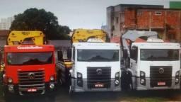 Vendo empresa de caminhões munck faturamento garantido todos contrato ñ vendo separado