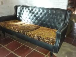 Vendo sofá+poltrona vintage