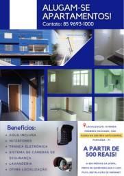 Apartamentos novos , bem localizador e com excelente localização