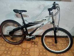 Bike aro 26 Caloi TRS Alumínio 18 MARCHAS