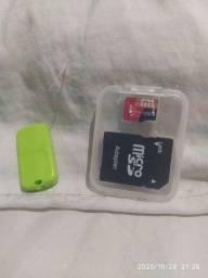 Vendo este cartão de memória de 128 gigas