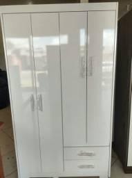Quarda  roupa novo em Mdp 4 portas e 2 gavetas 550,00  avista