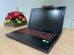Notebook Lenovo Gamer i7 16Gb 1Tb 2 placas de vídeo em Sli FHD (Garantia)