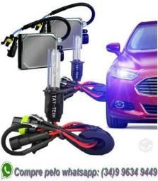 Kit xenon todos encaixes carro