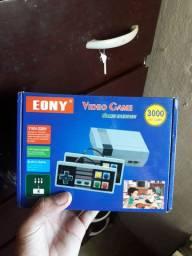 Vendo vídeo game com 3000 mil jogos por 200 rs