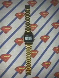 Relógio Dourado Casio