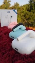 Fone bluetooth i12 de varias cores eletronicos & cia 2