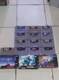 Título do anúncio: jogos originais de super nintendo !! apartir !!! p3