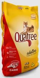 Ração Premium Quatree para Cães Adultos Todas as Raças Sabor carne - 25Kg