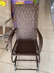 Cadeira Balanço Fibra sintética