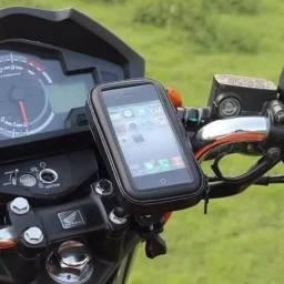 Suporte Universal  de Celular a Prova D'agua Para Moto e Bike