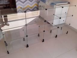 Balcão de vidro tipo expositor/vitrine/atendimento só hoje