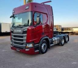 Título do anúncio: Vendo Scania R450 highline 6x2 2021