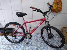 Bicicleta Bike freio a disco aro 26
