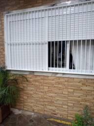 Aberturas em alumínio, janelas persianas.