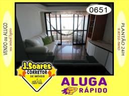 Manaíra, Mobiliado, 4 quartos, 120m², R$ 2500, Aluguel, Apartamento, João Pessoa
