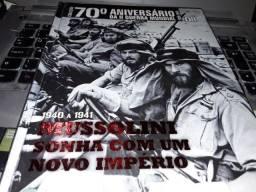 Livro Mussolini sonha com um novo império