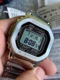 Casio G-shock Gmw-b5000-1dr Full Metal Square- Envio Já!!!