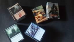 2 decks Magic + lote com 431 cards