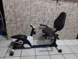 bicicleta ergométrica horizontal kikos KR 3.8 pra vender logo
