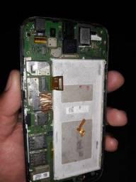 Téla e placa do Motorola usado