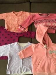 Lote casacos bebê