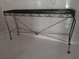 Mesa/Rack de Ferro 170x43cm