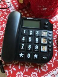 Telefone com discador gravado