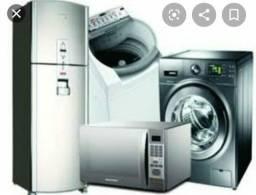 Assistência técnica em máquina de lavar e geladeira
