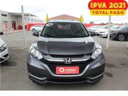 Honda Hr-v 1.8 16v Flex Lx Automático 2018