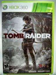 Tomb Raider (2013) - Xbox 360 original. Pouco uso.