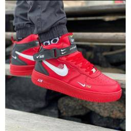 Nike force Red novo zerado aceito cartão