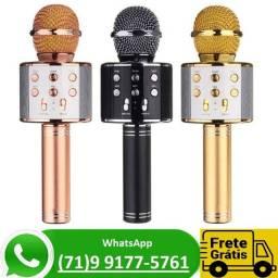 Profissional Ws-858 Handheld Ktv Microfone Wireles Sem Fio (NOVO)