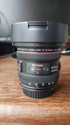 Lente Canon Ef 8-15mm F4l Fisheye Usm