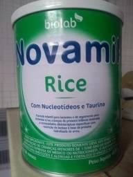 Lata de leite Novamil rice