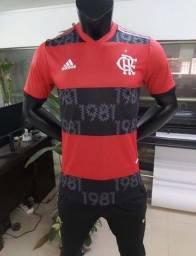Camisa Flamengo Rubro Negra 21/22