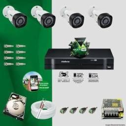 Kit câmeras Intelbras ////