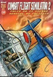 Livro - Combat Flight Simulator 2 - Palco da 2 Guerra Mundial no Pacifico - Microsoft