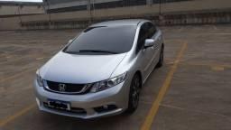 Honda civic lxr 2.0  flex one 2015 sensacional.. automático