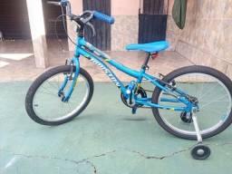 Bike infantil Houston Aro 20 semi nova