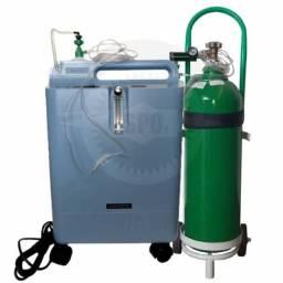 Venda concentrador de oxigênio + cilindro