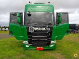 Scania R500 6x4 Suspensão a Molas