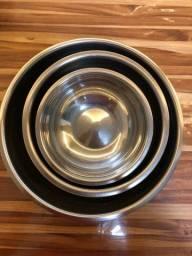 Bowls de alumínio